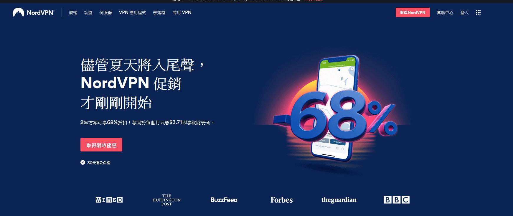 【VPN介紹】2020 最新NordVPN優惠@比官網3折更著數 (2020-10-07 更新)