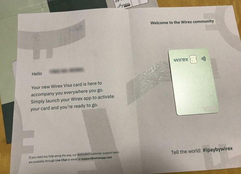 Wirex入門加密貨幣世界嘅第一張卡 (2020-12-16更新)