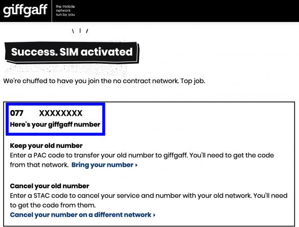 【Giffgaff】送你英國Sim Card!每年只需GBP10就有英國電話號碼!