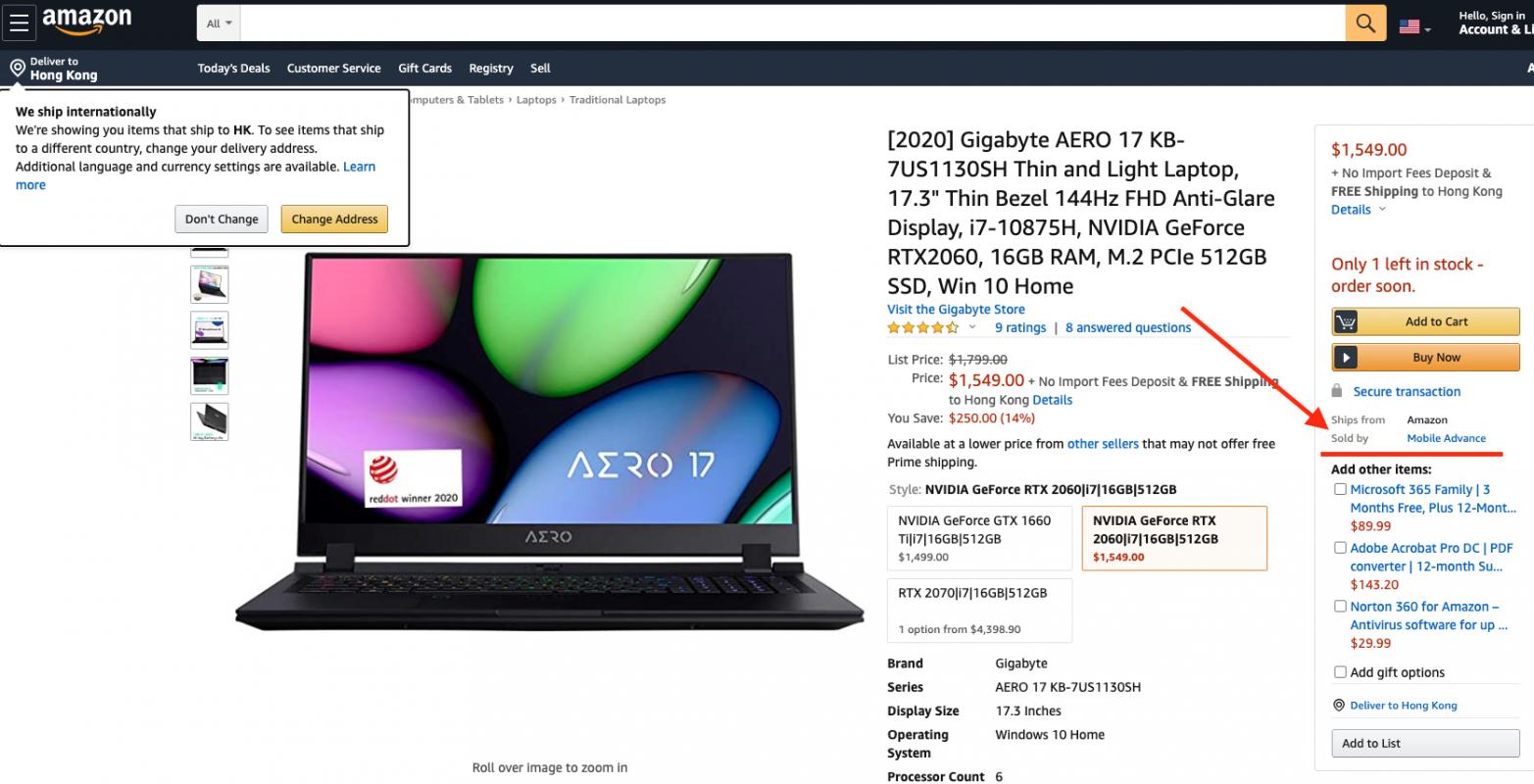 【港究 Amazon Prime Day 2020 攻略】買電腦心大心細?又想一分錢十分貨? - WFH 文書 / Gaming Laptop 最新介紹