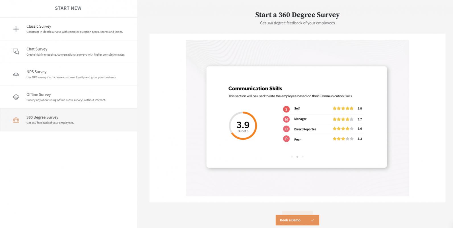 SurveySparrow-360 degree survey