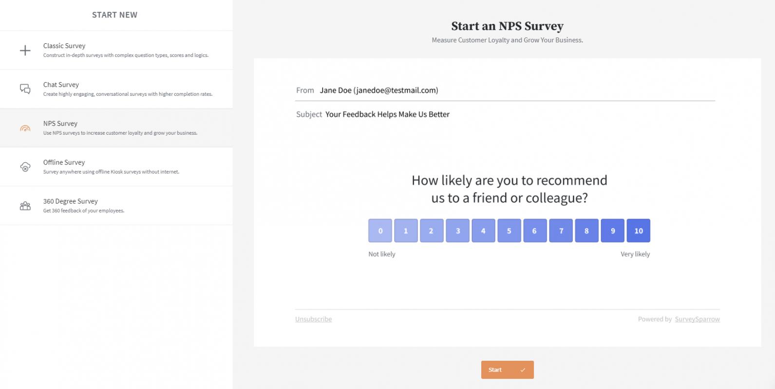 SurveySparrow-NPS