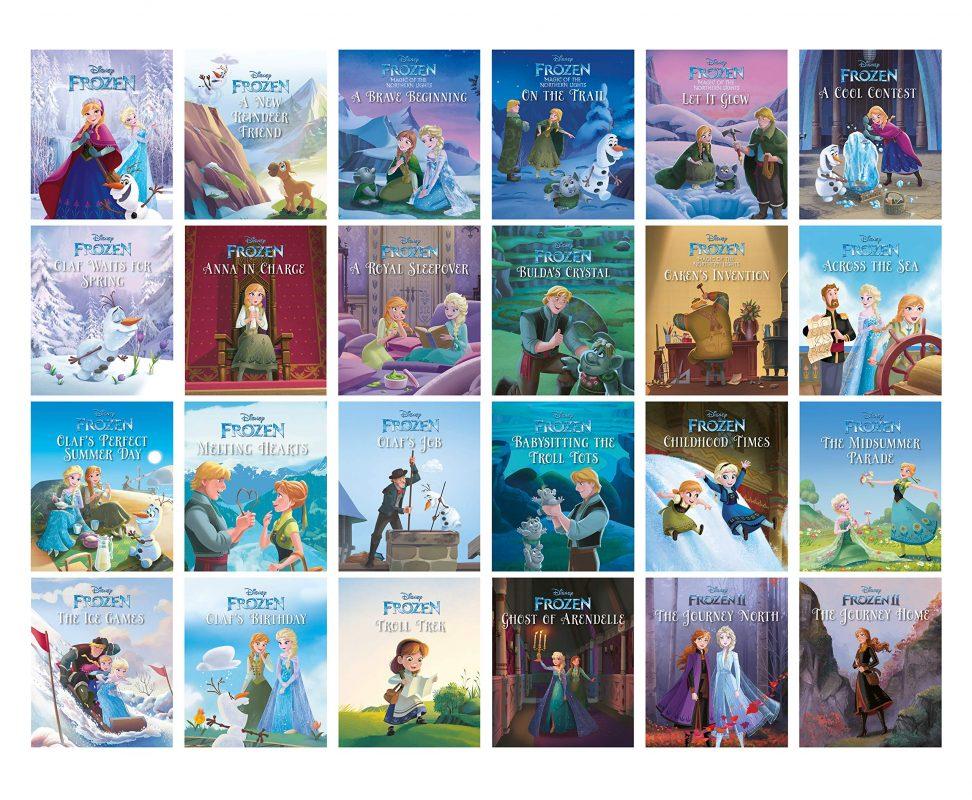 Disney Frozen Storybook Collection Advent Calendar - Books