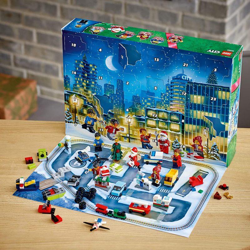 LEGO City Advent Calendar - Inside
