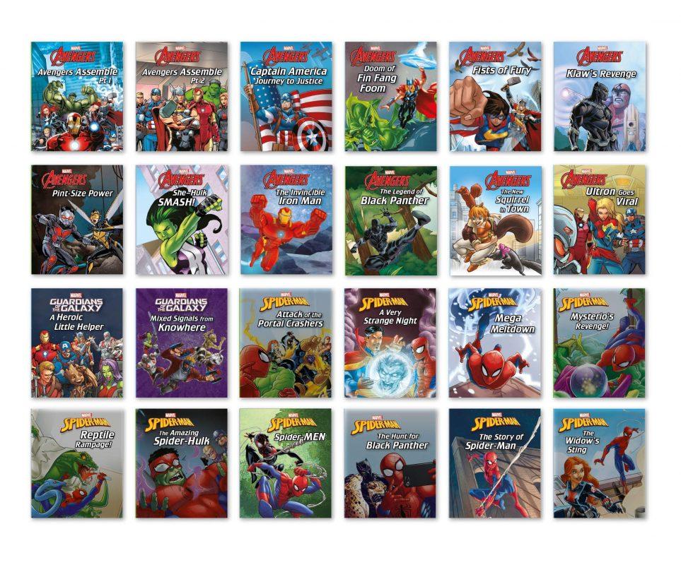 Marvel Storybook Collection Advent Calendar - Books