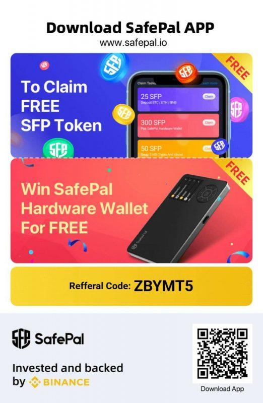 【可以拎Token!】真正完全離線加密貨幣冷錢包SafePal,做你安全嘅好夥伴