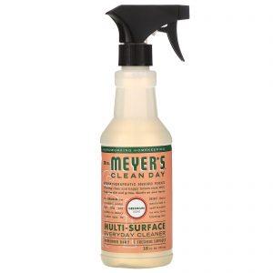Mrs. Meyers Clean Day, 多功能日常清潔劑,天竺葵味,473 ml