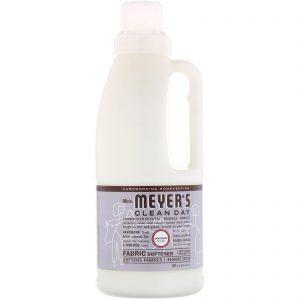 Mrs. Meyers Clean Day, 柔順劑,薰衣花草香,946 ml