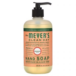 Mrs. Meyers Clean Day, 洗手液,天竺葵味,370 ml