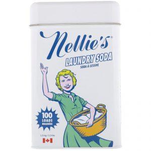 Nellie's, 洗衣純鹼,100筒量,3.3磅(1.5千克)