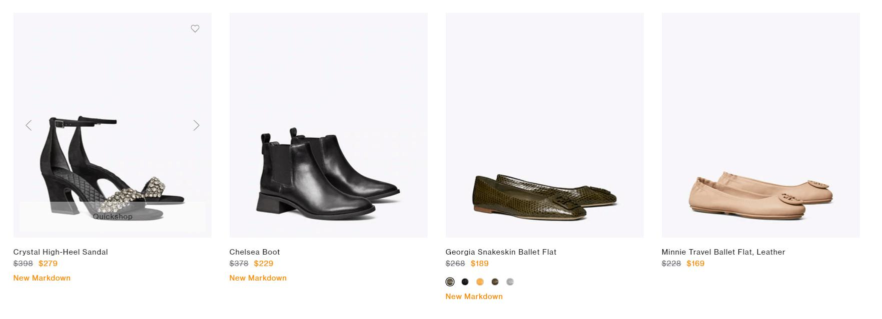 Rebatesme 回贈網獨家Tory Burch優惠連結 多款OL人氣袋款、鞋款有折!